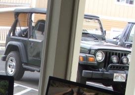 Dennis White's Jeep
