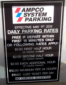 Hilo International Airport parking prices on Feb 13, 2012
