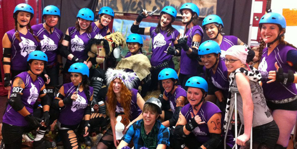 Paradise Roller Girls share aloha at Wild West Showdown