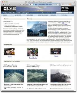 Volcano Disaster Assistance Program website