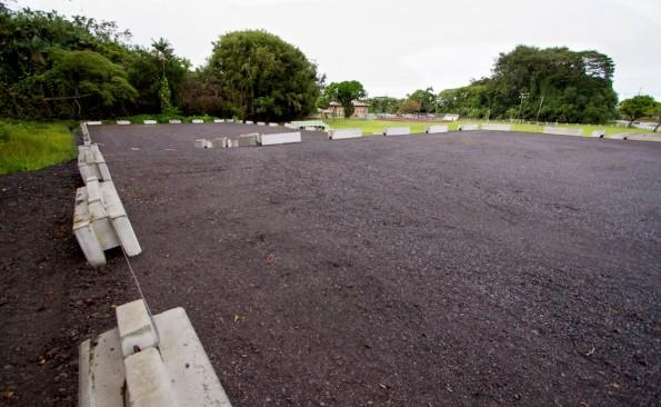 The upper parking lot at Hilo's Gilbert Carvalho Park. Photography by Baron Sekiya | Hawaii 24/7