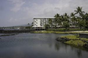 Keauhou Beach Hotel in Kona.