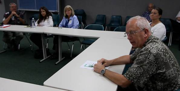 Kona Community Hospital CEO Jay Kreuzer talks about future plans for the hospital. Photography by Baron Sekiya | Hawaii 24/7