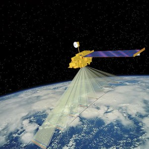Terra (formerly called EOS AM-1) satellite.