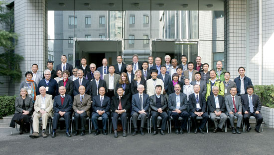 TMT Collaborative Board and guests gathered Oct. 23-24 in Beijing. (Photo courtesy of TMT)