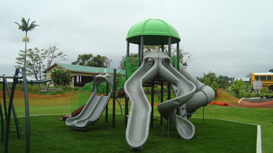 Mountain View playground (Photo courtesy of County of Hawaii)