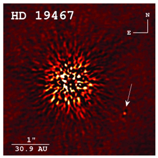 Rare brown dwarf discovery provides benchmark for future exoplanet research (Photo courtesy of Crepp et al. 2014 | APJ)