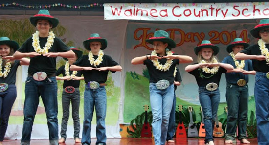 (Photo courtesy of Waimea Country School)