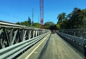 Umauma Bridge construction. August 24, 2014. Photography by Baron Sekiya | Hawaii 24/7