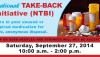 Turn in your unused or expired medication for safe, anonymous disposal. Saturday, Sept. 27, 2014, 10 a.m. - 2 p.m.