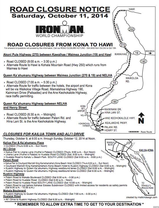 Ironman2014RoadClosures