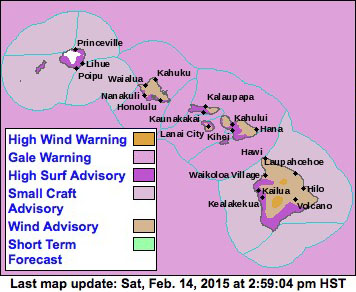 Map courtesy of National Weather Service