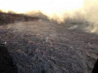 A view Friday (Feb 27) of upslope surface activity near Pu'u 'O'o Crater. Photo courtesy of Hawaii County Civil Defense