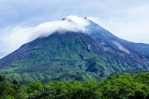 Mount Merapi. April 16, 2014. Photo by Crisco 1492