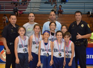 Girls 10-and-Under 'Kalakaua'
