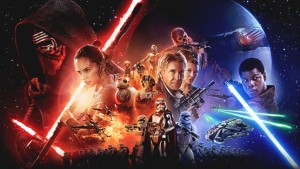 Star Wars: The Force Awakens will play at 12:15 p.m. Saturday (Jan 2) at the Ward Theatres and will be the first open captioning and audio description movie showings for deaf and visually impaired movie goers under the new law.