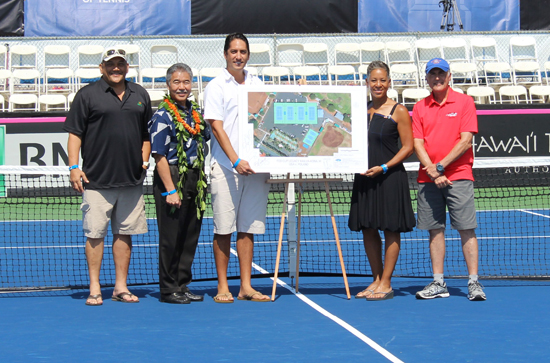 Fed Cup 2016: Donation to renovate Old A tennis courts