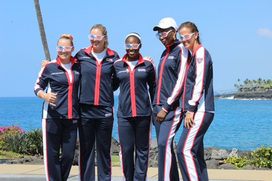 Team USA (Hawaii 24/7 photo by Karin Stanton)