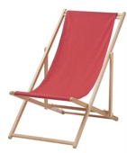 Recalled IKEA beach chair solid color.