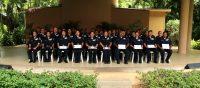 Graduates of the 2017 Basic Corrections Recruit Class.