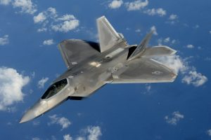 An F-22 Raptor from the 154th Wing, Hawaii Air National Guard. Air National Guard File Photo