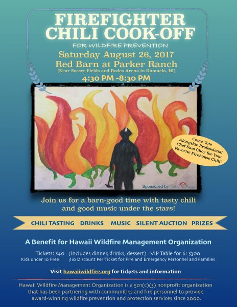 Firefighter Chili Cook-Off