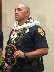 Officer of the Year- Marco Segobia