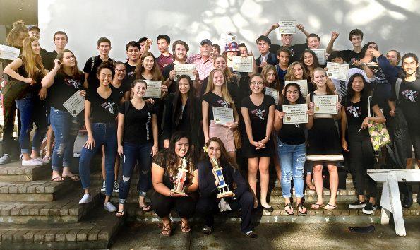 Parker School debate team 2017.