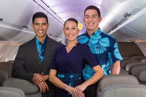 New Sig Zane Hawaiian Airlines in-flight crew uniforms