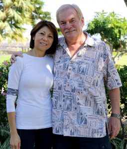 Tony and Maria Dalzell, co-owners of Waikoloa Luxury Cinemas.