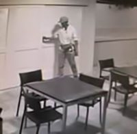 Surveillance image No. 1 male suspect