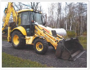 Theft: State Highway Backhoe