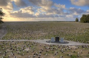 Midway Atoll National Wildlife Refuge and Battle of Midway National Memorial within Papahānaumokuākea Marine National Monument is a special place for over three million seabirds - they return to Midway Atoll each year to rest, mate, lay eggs and raise their chicks. USFWS Photo by Dan Clark