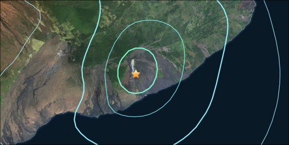 Epicenter of 4.4 magnitude (preliminary) quake at 10:30 a.m. Thursday (May 3). Map via USGS.