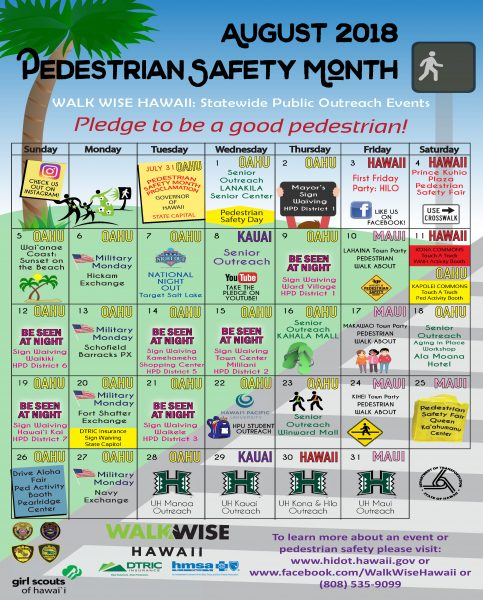 Pedestrian Safety Month Events