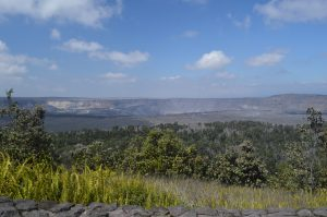 Kīlauea's Halema'uma'u crater was quiet again today, with only degassing from cracks and fumaroles noted by HVO observers. Photo taken Sunday, August 12, 2018 courtesy of U.S. Geological Survey