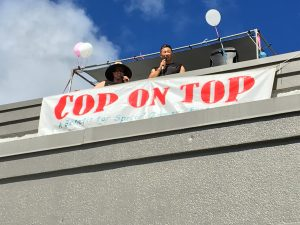 """Cop on Top"" Fundraiser for Special Olympics at Walmart"