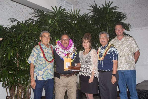 Mason Souza of the Department of Parks & Recreation was named Manager of the Year
