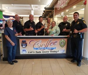 """""""Coffee with a Cop"""" Wednesday, (Oct 3)."""