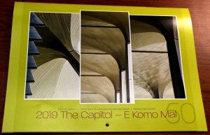 """""""The Capitol – E Komo Mai"""" calendar"""