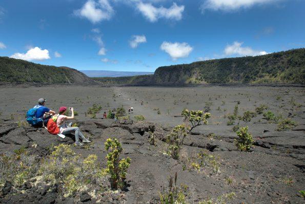 Kilauea Iki Trail. NPS Photo by Janice Wei